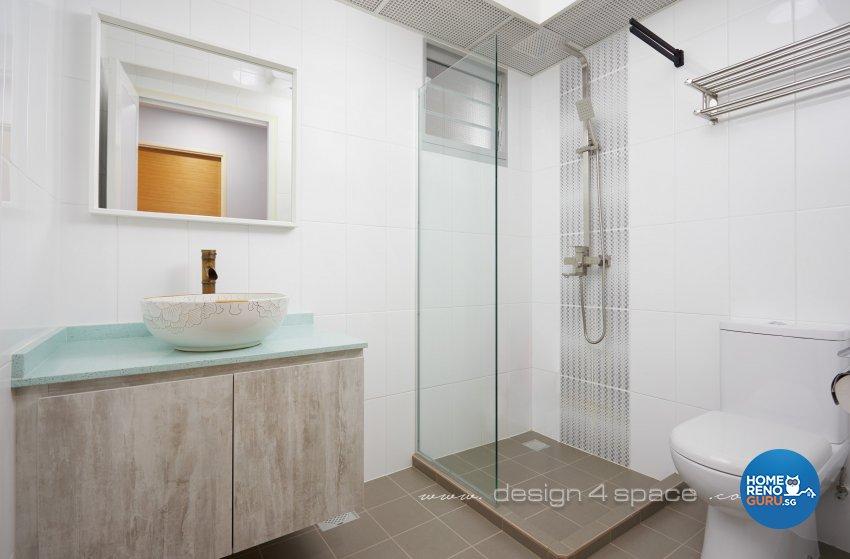 Others Design - Bathroom - HDB 4 Room - Design by Design 4 Space Pte Ltd