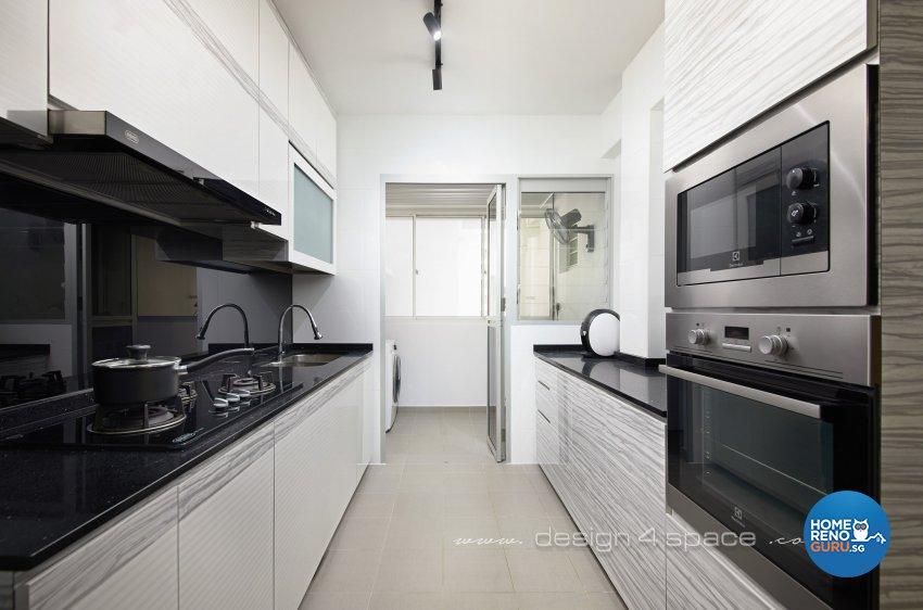 Others Design - Kitchen - HDB 4 Room - Design by Design 4 Space Pte Ltd