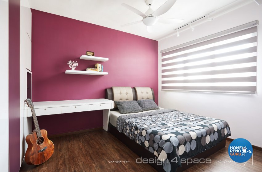 Contemporary, Modern Design - Commercial - HDB 4 Room - Design by Design 4 Space Pte Ltd