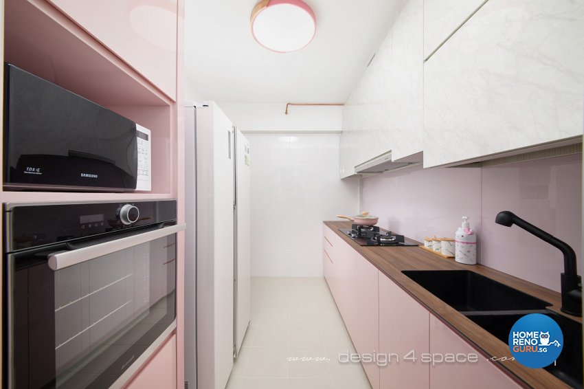 Others Design - Kitchen - HDB 4 Room - Design by Design 4 Space Pte Ltd