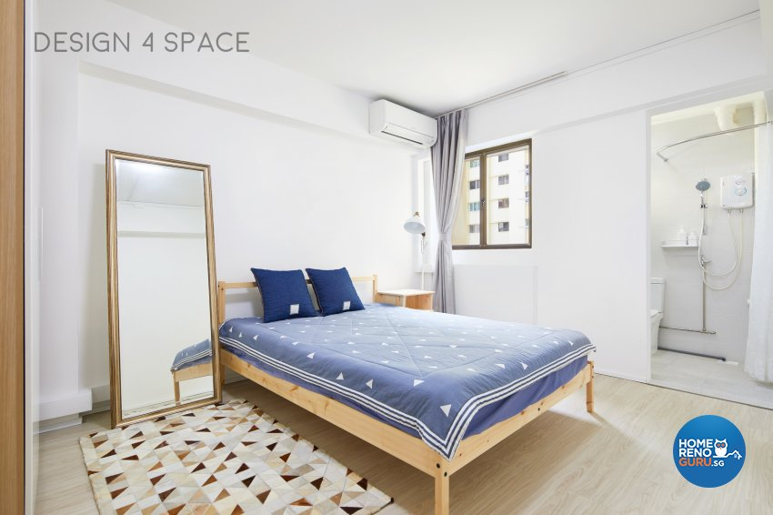 Minimalist, Modern, Scandinavian Design - Bedroom - HDB 4 Room - Design by Design 4 Space Pte Ltd
