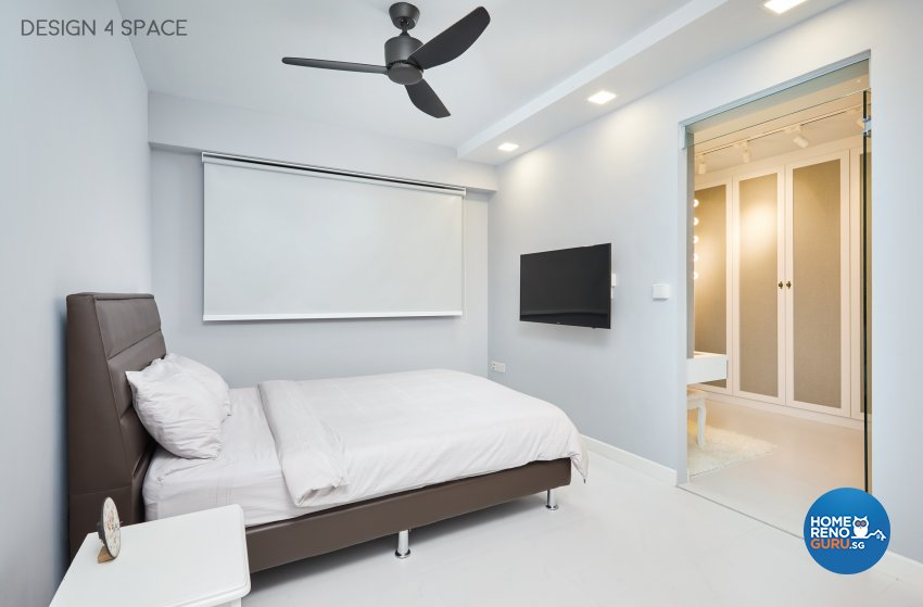 Classical, Modern, Victorian Design - Bedroom - HDB 4 Room - Design by Design 4 Space Pte Ltd
