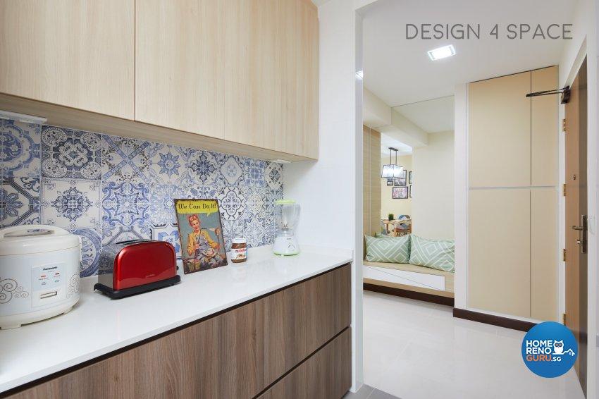 Contemporary, Minimalist, Scandinavian Design - Kitchen - HDB 4 Room - Design by Design 4 Space Pte Ltd