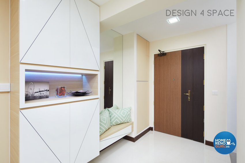 Contemporary, Minimalist, Scandinavian Design - Living Room - HDB 4 Room - Design by Design 4 Space Pte Ltd
