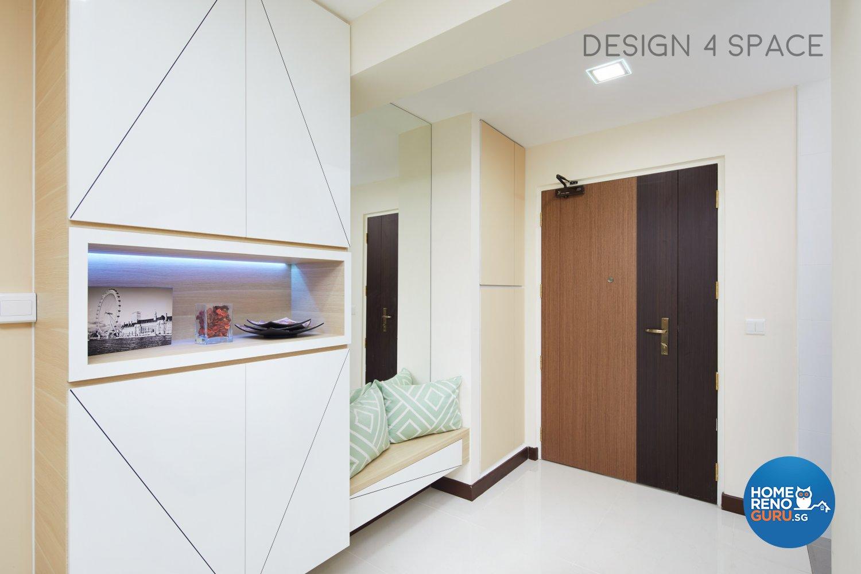 Design 4 Space Pte Ltd Hdb 4 Room 289 Sengkang Compassvale Crescent 4061 Singapore Interior Design Gallery Homerenoguru