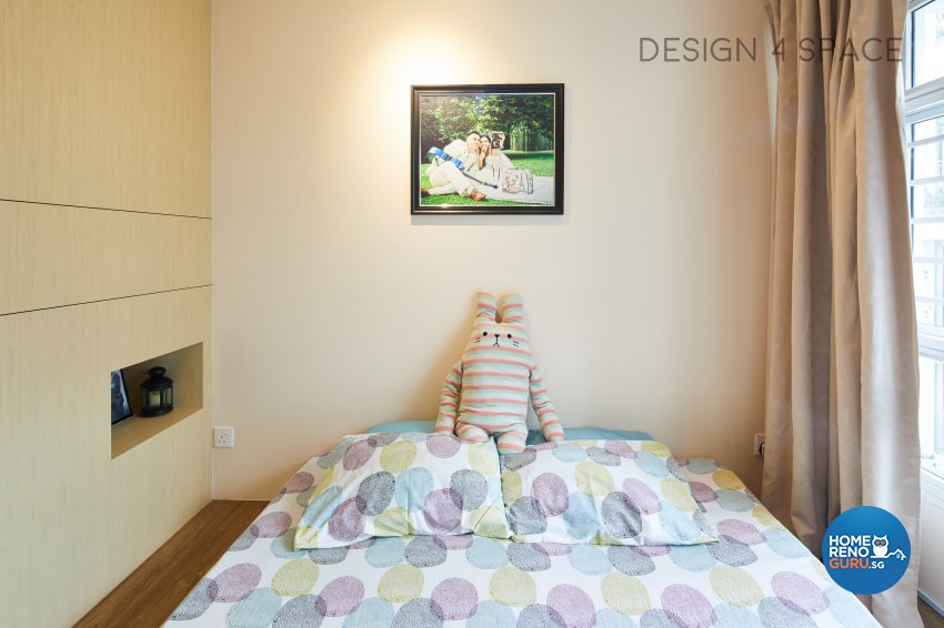 Contemporary, Minimalist, Scandinavian Design - Bedroom - HDB 4 Room - Design by Design 4 Space Pte Ltd