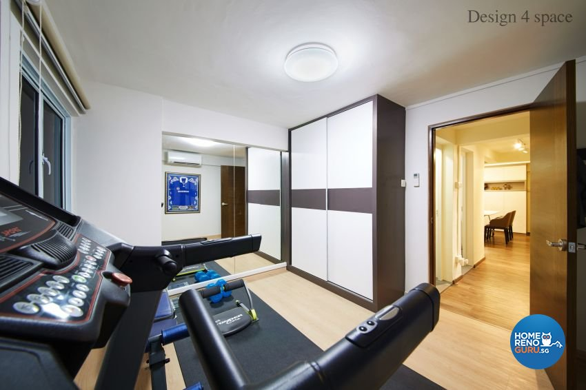 Contemporary, Modern Design - Entertainment Room - HDB 4 Room - Design by Design 4 Space Pte Ltd
