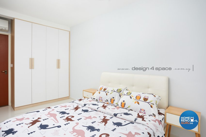 Minimalist, Modern, Scandinavian Design - Bedroom - HDB 5 Room - Design by Design 4 Space Pte Ltd