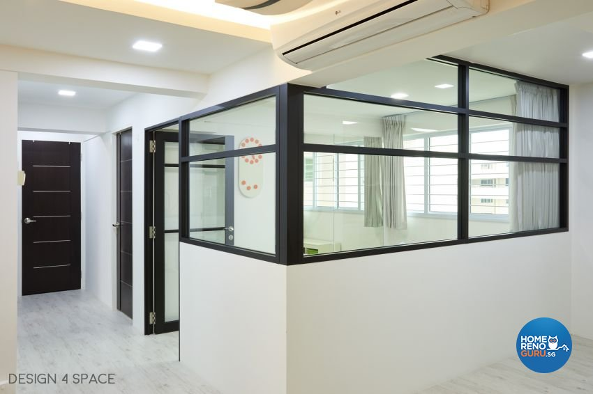 Contemporary, Minimalist, Modern Design - Study Room - HDB 5 Room - Design by Design 4 Space Pte Ltd