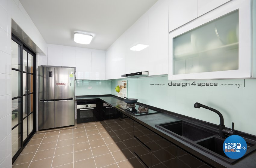 Minimalist, Scandinavian Design - Kitchen - HDB 5 Room - Design by Design 4 Space Pte Ltd