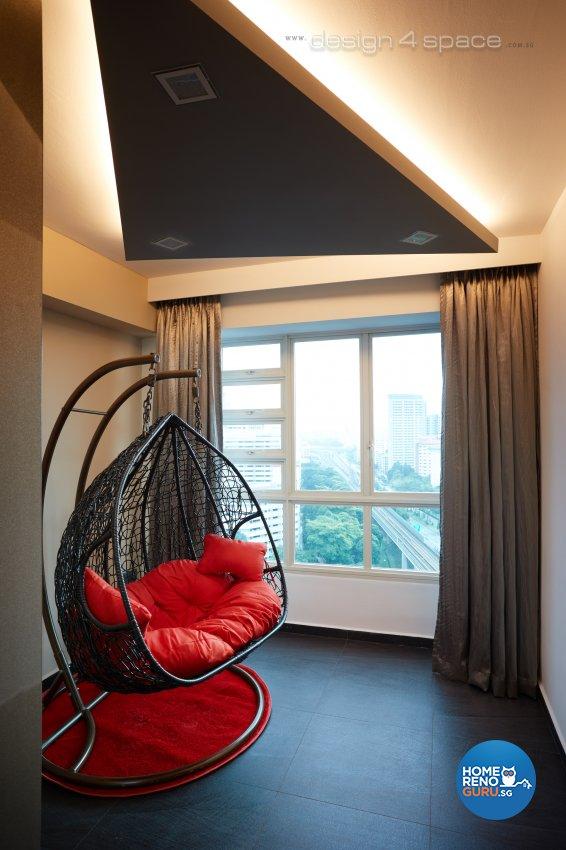 Modern Design - Balcony - HDB 5 Room - Design by Design 4 Space Pte Ltd