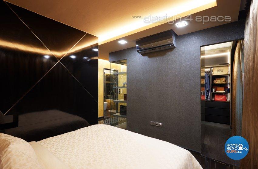 Modern Design - Bedroom - HDB 5 Room - Design by Design 4 Space Pte Ltd