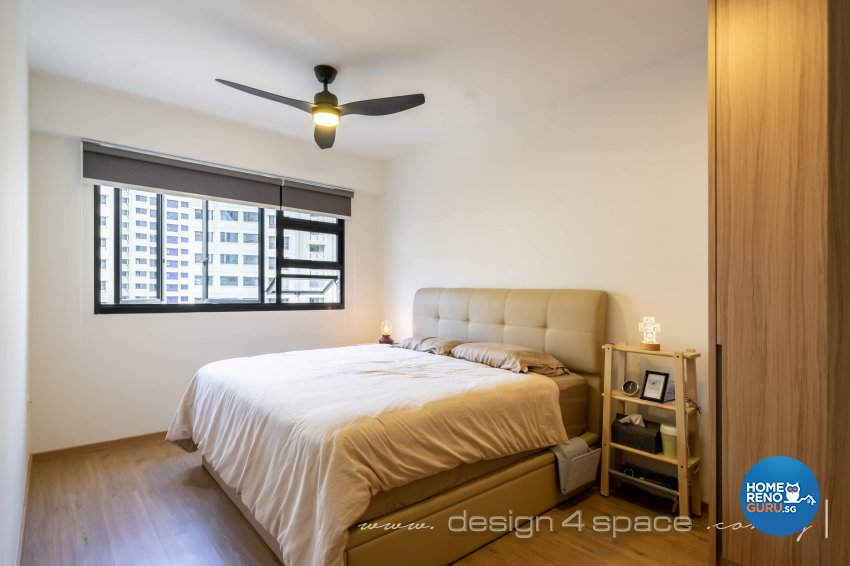 Scandinavian Design - Bedroom - HDB 5 Room - Design by Design 4 Space Pte Ltd