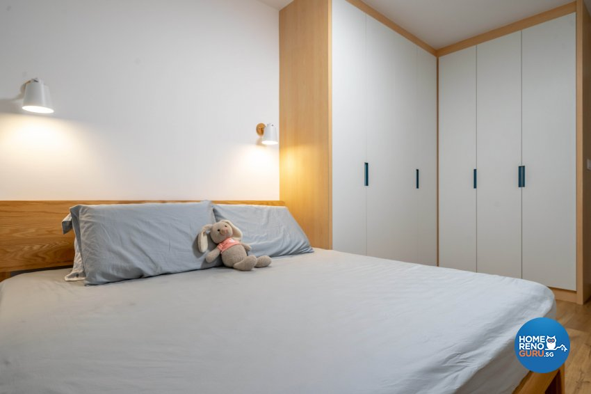 Modern, Scandinavian Design - Bedroom - HDB 5 Room - Design by Design 4 Space Pte Ltd