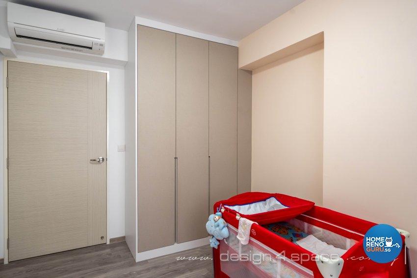 Minimalist Design - Bedroom - HDB 5 Room - Design by Design 4 Space Pte Ltd