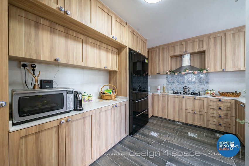 Country, Others Design - Kitchen - HDB 5 Room - Design by Design 4 Space Pte Ltd