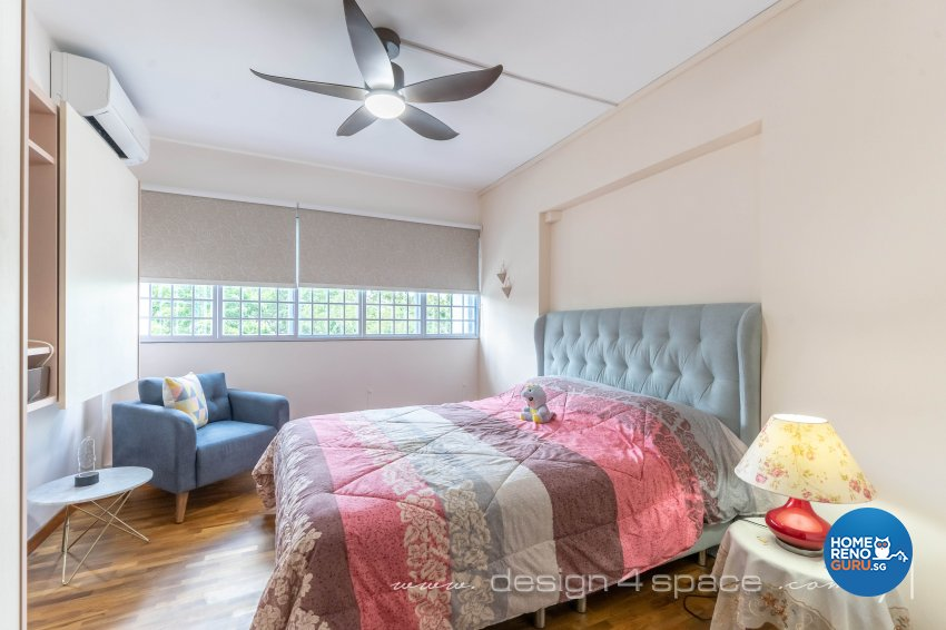 Country, Others Design - Bedroom - HDB 5 Room - Design by Design 4 Space Pte Ltd