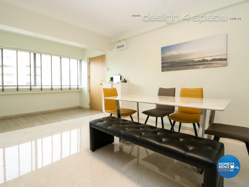 Eclectic, Industrial, Minimalist Design - Living Room - HDB 5 Room - Design by Design 4 Space Pte Ltd