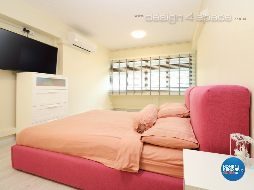 Eclectic, Industrial, Minimalist Design - Bedroom - HDB 5 Room - Design by Design 4 Space Pte Ltd