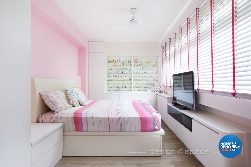Modern Design - Bedroom - HDB 5 Room - Design by Design 4 Space Pte Ltd