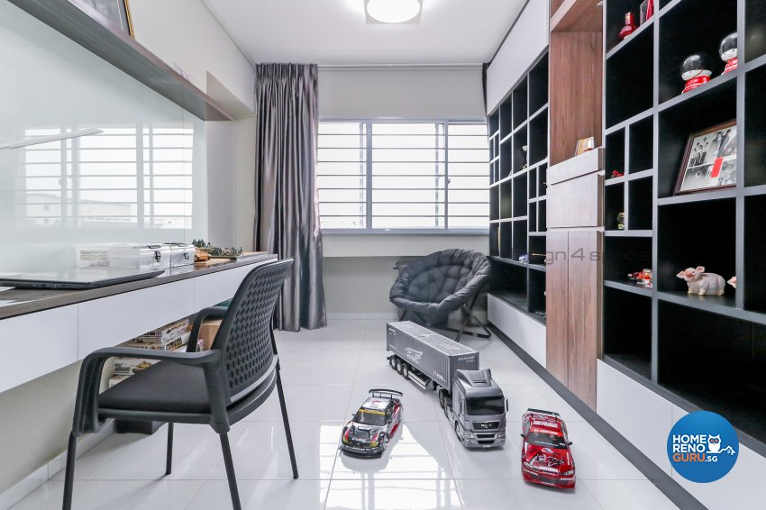 Minimalist Design - Living Room - HDB 5 Room - Design by Design 4 Space Pte Ltd