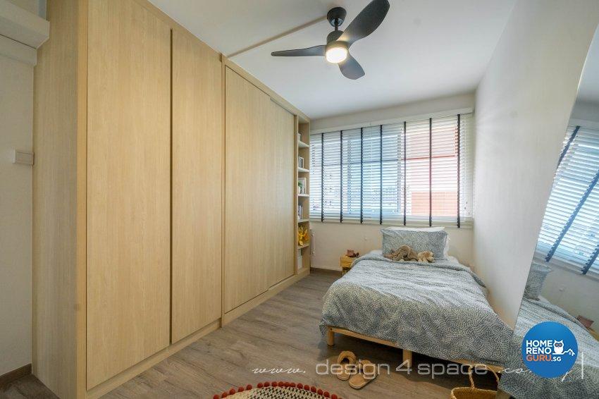 Country Design - Bedroom - HDB 5 Room - Design by Design 4 Space Pte Ltd