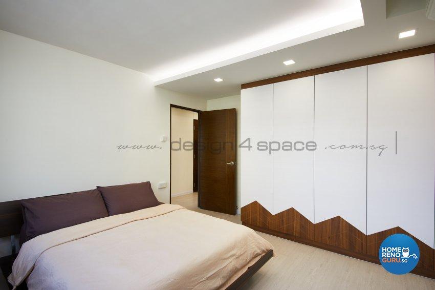 Resort Design - Bedroom - HDB 5 Room - Design by Design 4 Space Pte Ltd
