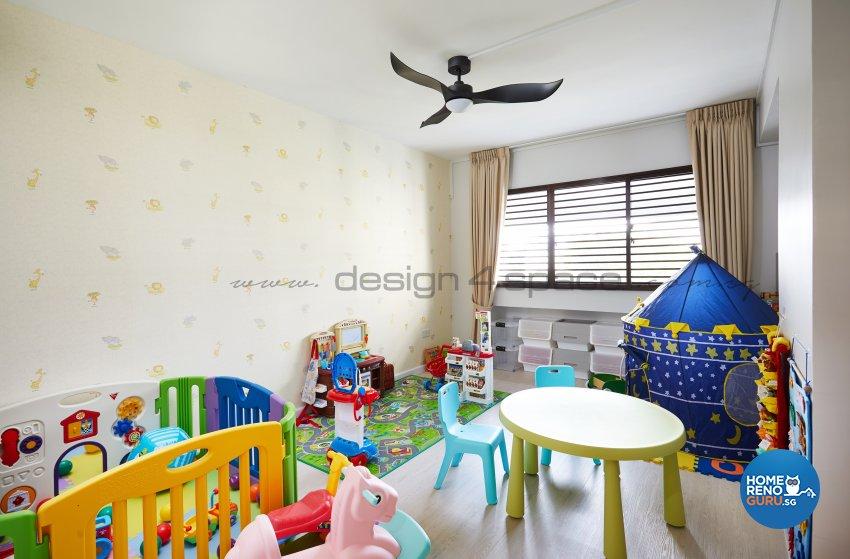 Resort Design - Entertainment Room - HDB 5 Room - Design by Design 4 Space Pte Ltd