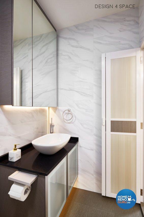 Contemporary, Scandinavian Design - Bathroom - HDB 5 Room - Design by Design 4 Space Pte Ltd