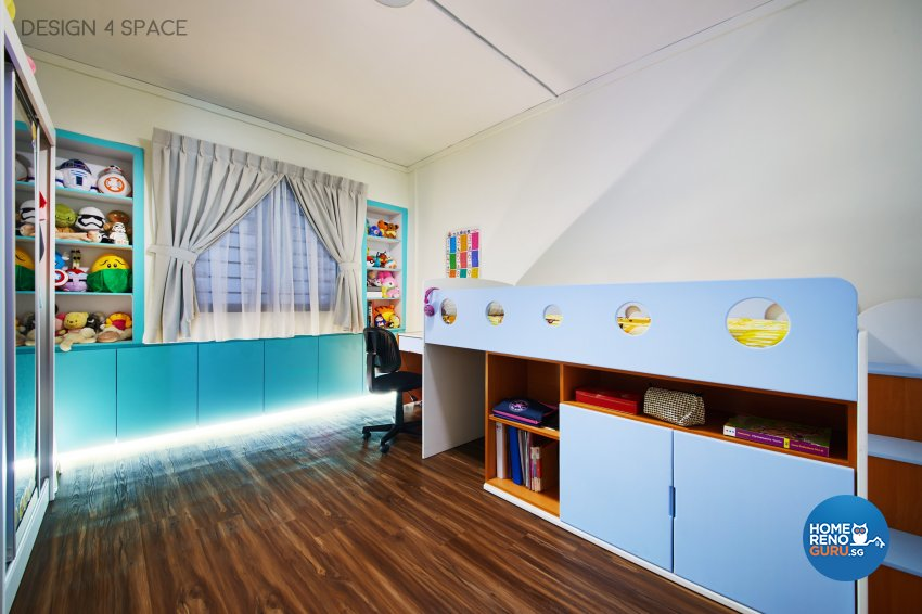 Contemporary, Modern, Scandinavian Design - Bedroom - HDB 5 Room - Design by Design 4 Space Pte Ltd