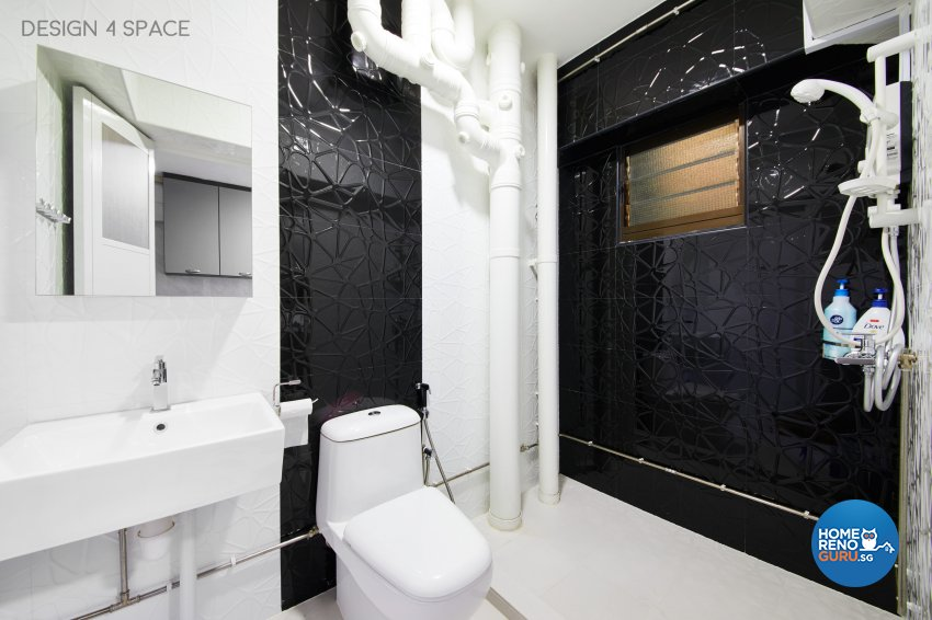 Contemporary, Modern, Scandinavian Design - Bathroom - HDB 5 Room - Design by Design 4 Space Pte Ltd