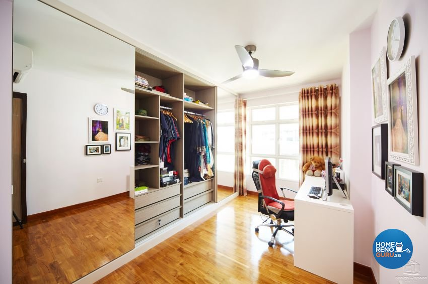 Contemporary, Minimalist, Modern Design - Study Room - HDB 5 Room - Design by Design 4 Space Pte Ltd