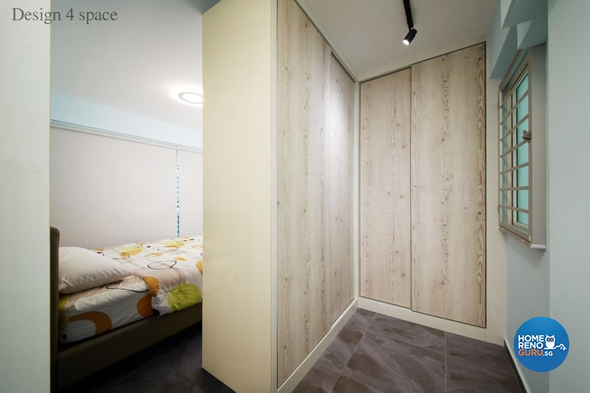 Contemporary, Minimalist, Modern Design - Bedroom - HDB 5 Room - Design by Design 4 Space Pte Ltd