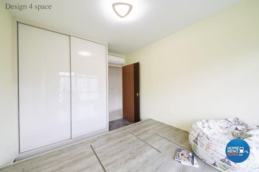 Contemporary, Minimalist, Modern Design - Bedroom - HDB 5 Room - Design by Design 4 Space Pte Ltd