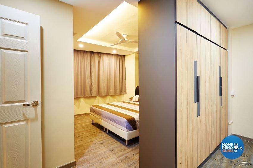 Contemporary, Industrial, Rustic Design - Bedroom - HDB 5 Room - Design by Design 4 Space Pte Ltd