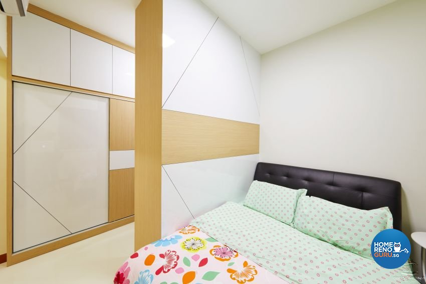 Minimalist, Modern Design - Bedroom - HDB 5 Room - Design by Design 4 Space Pte Ltd