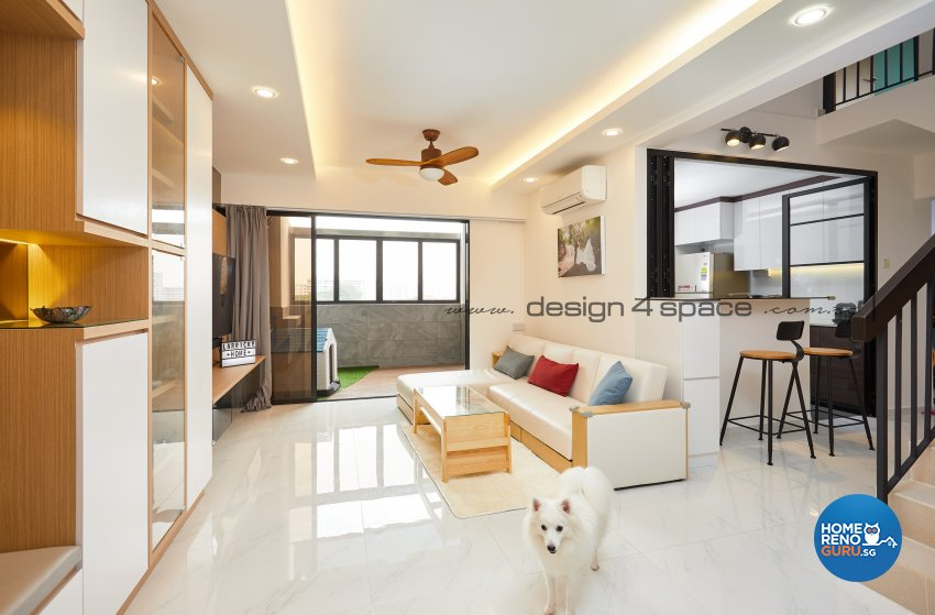 Contemporary, Minimalist, Scandinavian Design - Living Room - Others - Design by Design 4 Space Pte Ltd