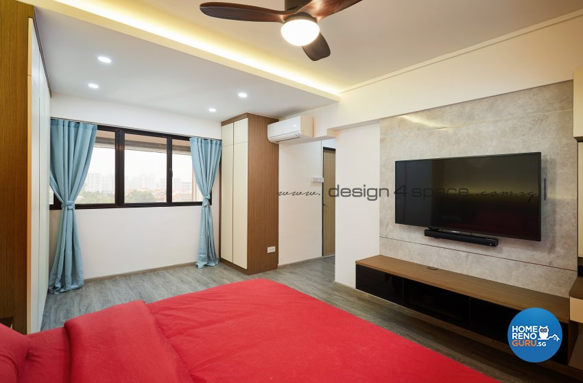 Contemporary, Minimalist, Scandinavian Design - Bedroom - Others - Design by Design 4 Space Pte Ltd