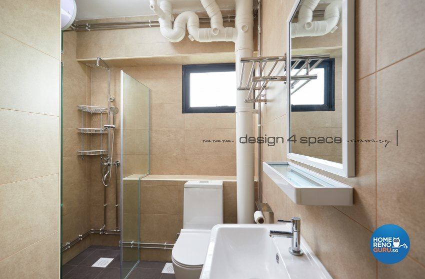 Contemporary, Minimalist, Scandinavian Design - Bathroom - Others - Design by Design 4 Space Pte Ltd