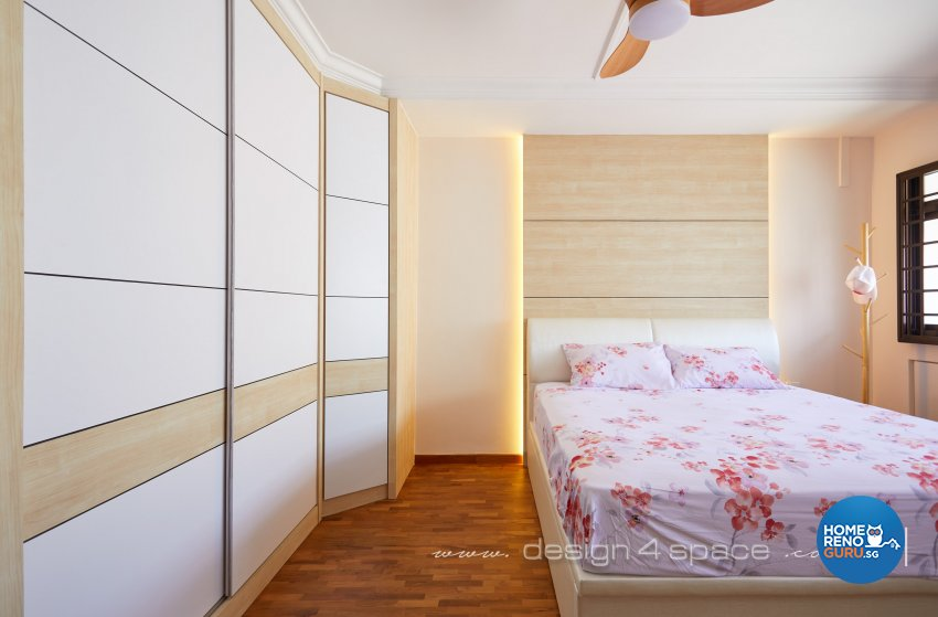Others, Resort Design - Bedroom - HDB Executive Apartment - Design by Design 4 Space Pte Ltd