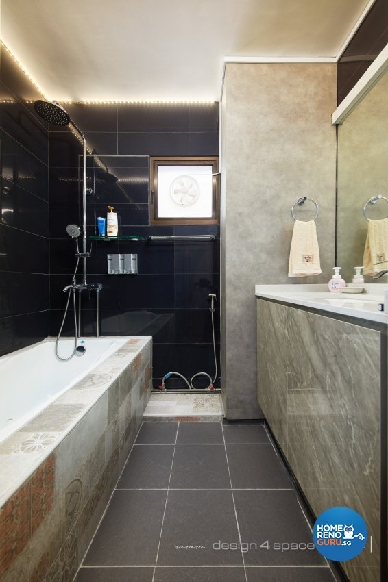 Others, Resort Design - Bathroom - HDB Executive Apartment - Design by Design 4 Space Pte Ltd