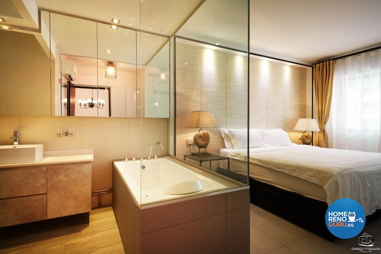 Classical, Minimalist Design - Bathroom - HDB Executive Apartment - Design by Design 4 Space Pte Ltd