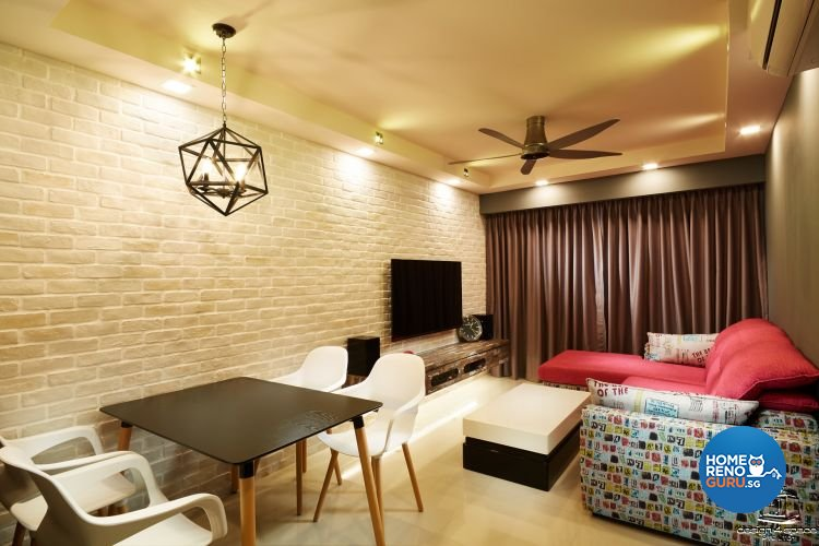 Design 4 Space Pte Ltd-HDB 3-Room package