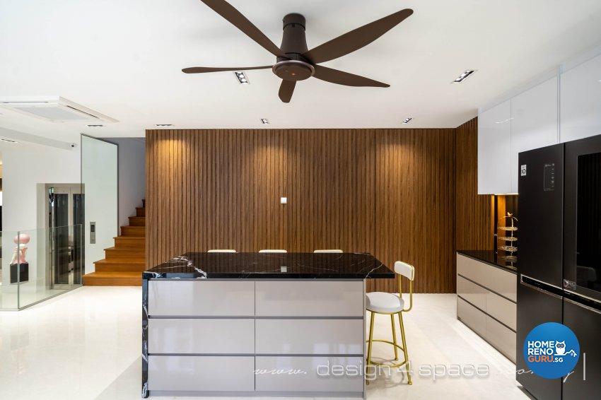 Contemporary Design - Kitchen - Landed House - Design by Design 4 Space Pte Ltd