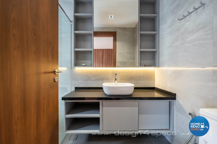 Contemporary Design - Bathroom - Landed House - Design by Design 4 Space Pte Ltd