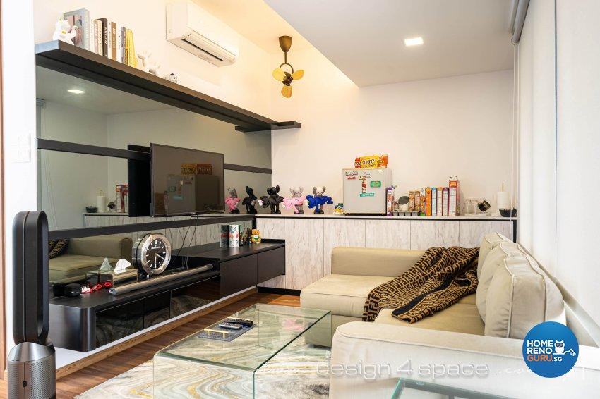 Contemporary Design - Entertainment Room - Landed House - Design by Design 4 Space Pte Ltd