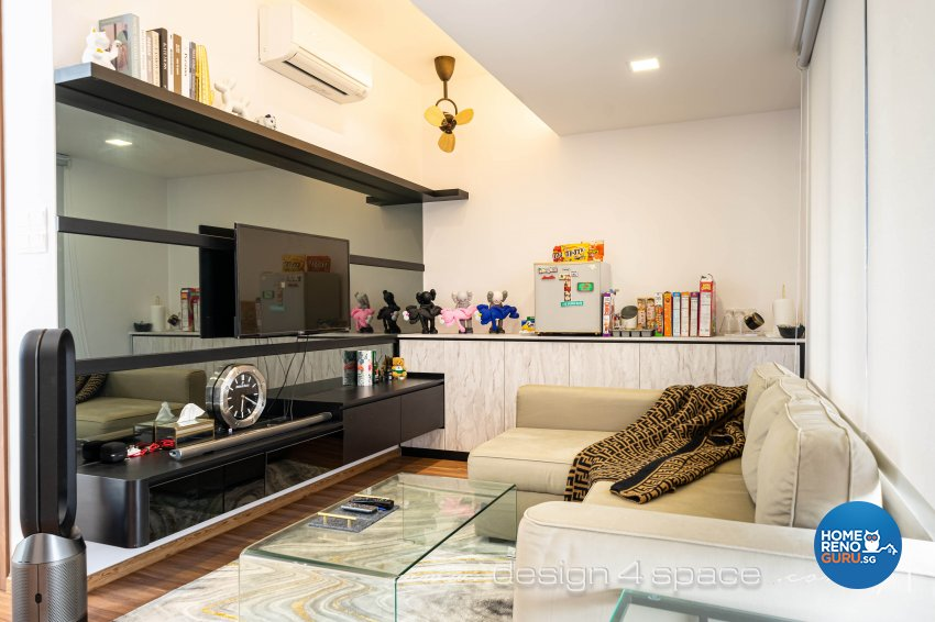 Contemporary Design - Entertainment Room - Landed House - Design by Design 4 Space Pte Ltd