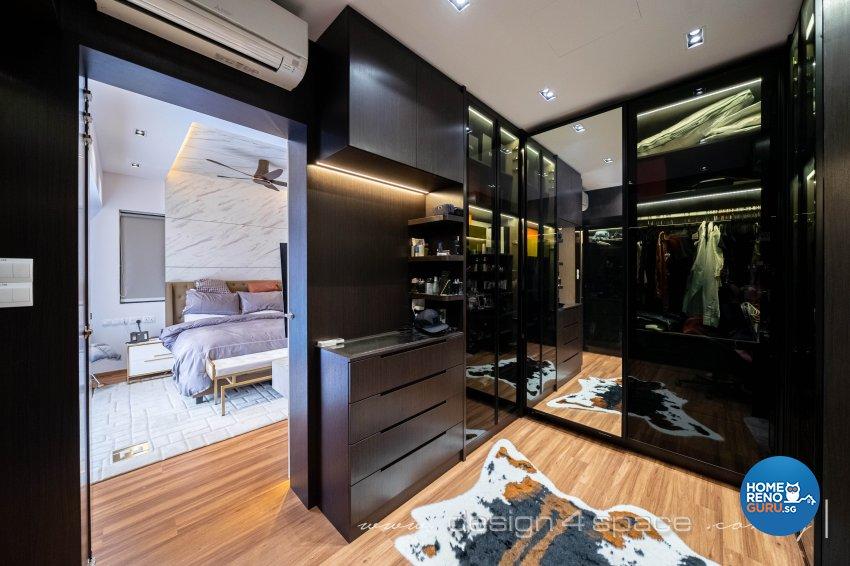 Contemporary Design - Bedroom - Landed House - Design by Design 4 Space Pte Ltd