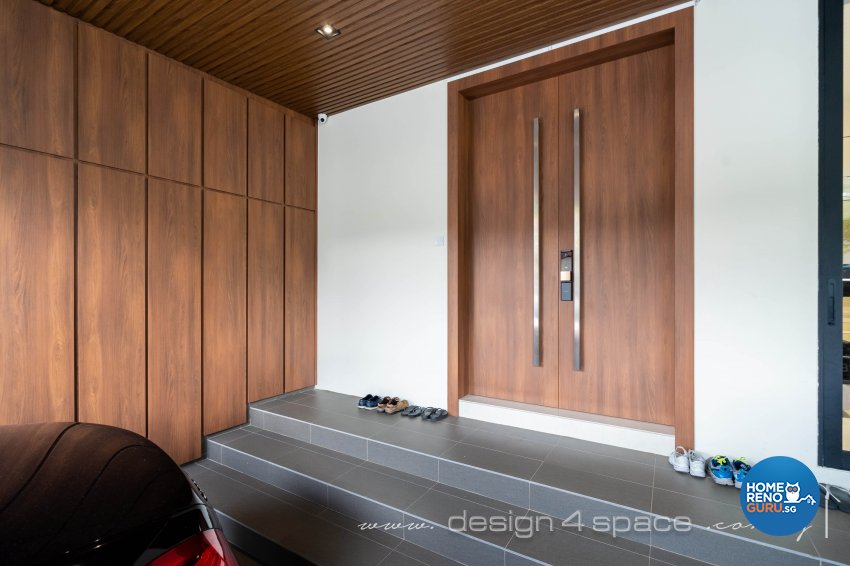 Contemporary Design - Balcony - Landed House - Design by Design 4 Space Pte Ltd