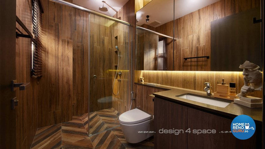 Modern Design - Bathroom - Landed House - Design by Design 4 Space Pte Ltd